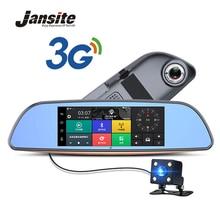 Jansite 7″ Car DVR camera Rearview Mirror Android 5.0 3G Network Video Recorder GPS Navigation Dual Lens Automobile Dash cam