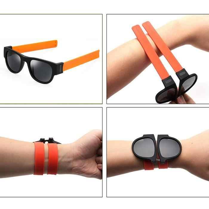 Image result for Polarized Slap Sunglasses Bracelet gif pictures