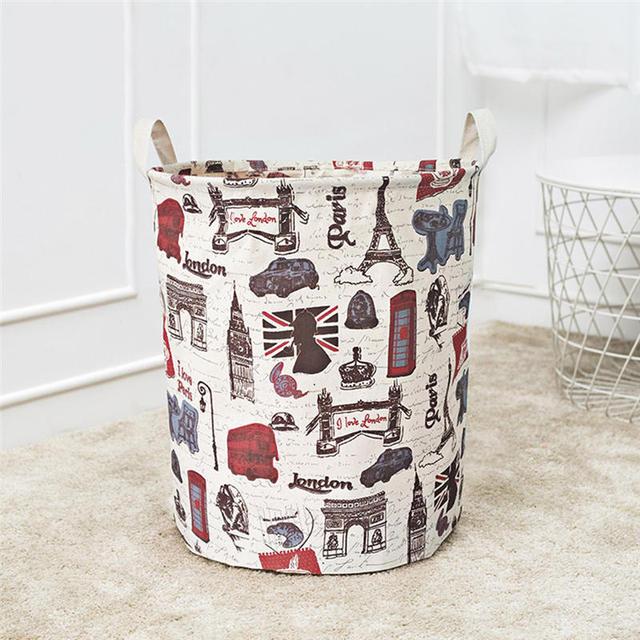 Forest Animals – Medium Storage Basket for Kids Room