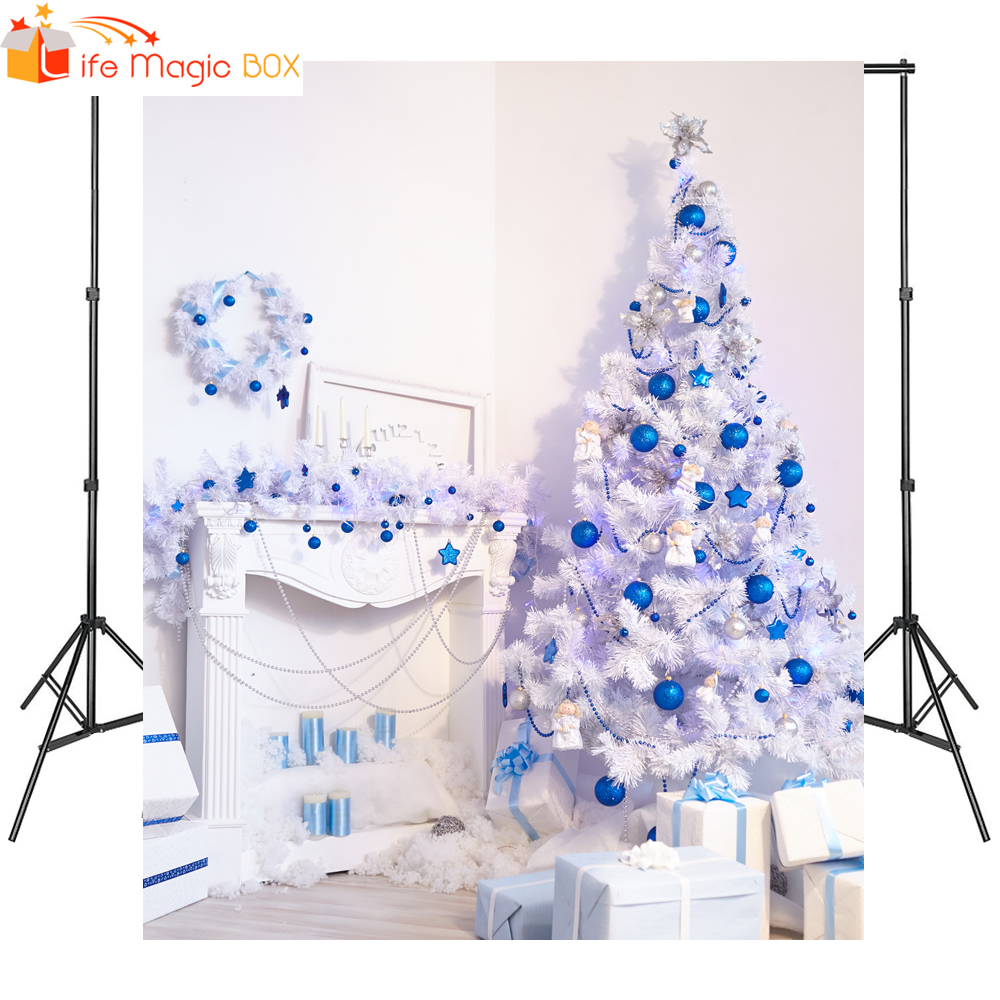 LIFE MAGIC BOX Christmas Background Photography For Photo Studio Bolas De Navidad Personalizables