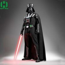 Darth Vader(Anakin Skywalker) Vader Costume Suit Kids Movie For Halloween Party Cosplay With Aurora Sword