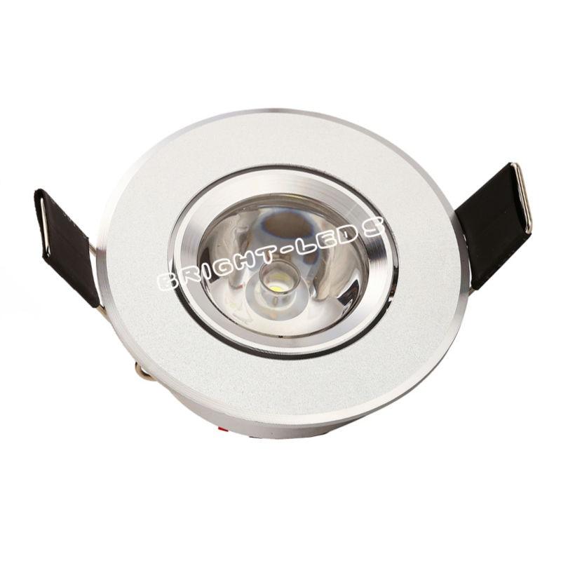 4pcs / lot najboljša cena 1W 3W mini velika moč vgradne Led - Notranja razsvetljava - Fotografija 2