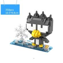 LOZ Cool penguins Totoroblocks ego nero legoe star wars duplo lepin brick minifigures ninjago guns duplo farm castle super