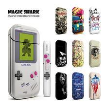 Magia Shark moda Mario Game Boy czaszka samochodów amerykański kapitan naklejka na IQOS 2 4 Plus E papieros dla IQOS 2 4 P tanie tanio vapethink for IQOS 2 4 Plus Z tworzywa sztucznego Naklejki