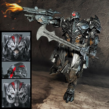 Transformation The Last Knight Galvatron MP36 MW-002T MW-002-T MP-36 Movie 5 Battle Damage Alloy Oversize Figure Robot Toys transformation the last knight galvatron mp36 mw 002t mw 001 t mp 36 movie 5 alloy oversize figure robot toys