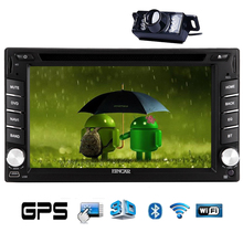 Player CD Navigation WiFi Radio GPS Stereo Autoradio Android 5.1 Car DVD APP Touchscreen Audio Head Unit In Dash 6.2″