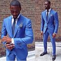 Brand New Mens Dinner Party Prom Suits Groom Tuxedos Groomsmen Wedding Blazer Suits (Jacket+Pants+Girdle+Tie) K:1435