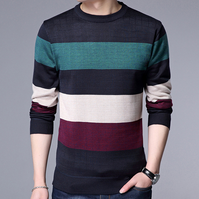 Men's Stylish  Striped T Shirts