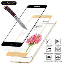 цена Full Cover Tempered Glass For Xiaomi Redmi 4X 5 Plus 6A 4A 6 Redmi Note 5 Pro 4X 4 5A Protective Glass Screen Protector Film