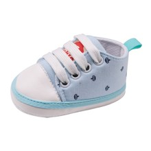 19 New Crown Printed Canvas Shoes With Casual Baby Toddler  Boy Girl