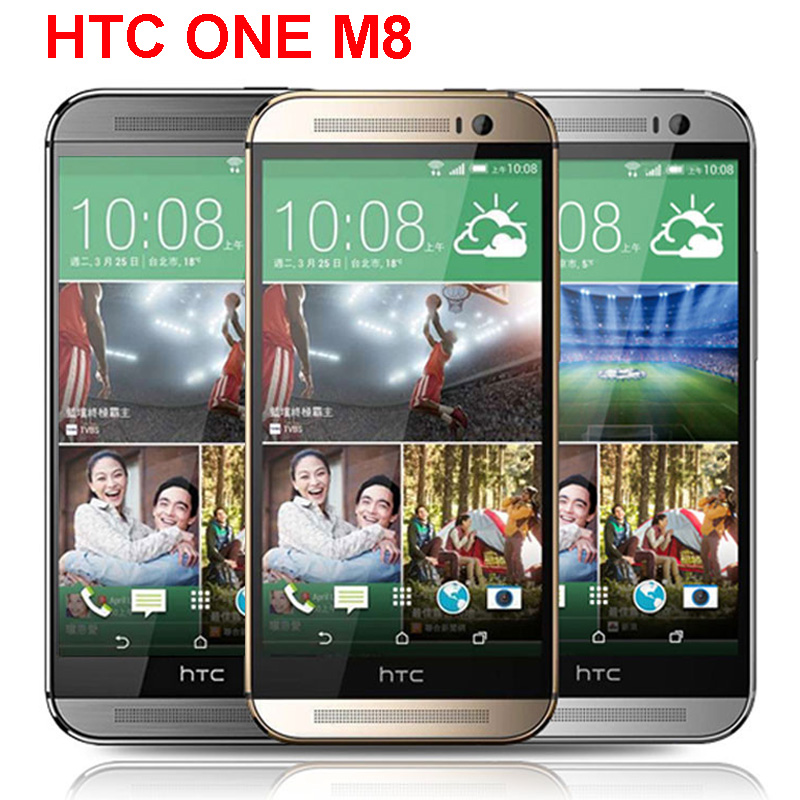 HTC One M8 3-Cameras Original 32gb GSM/WCDMA/LTE Gorilla Glass Quad Core Refurbished