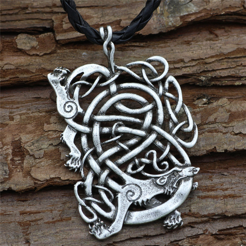collier homme zodiaque chinois dragon