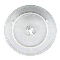 2PCS High Quality 24 5cm Microwave Oven Glass Plate For Haier Galanz Midea Etc Microwave Oven