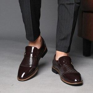 Image 2 - 2020 formale schuhe männer oxfords business hochzeit sozialen handsome mens kleid schuhe # SH3393