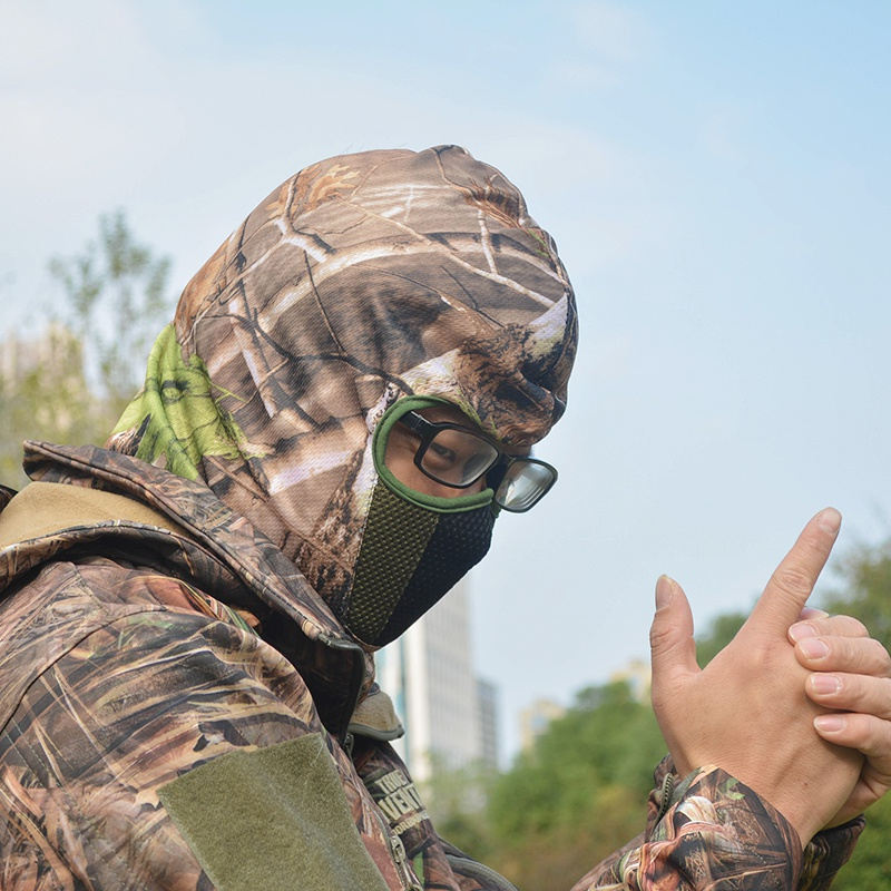 Masks Balaclava Hunting-Hat Full-Face-Mask Tactical Winter Camouflage Headwear Hood New