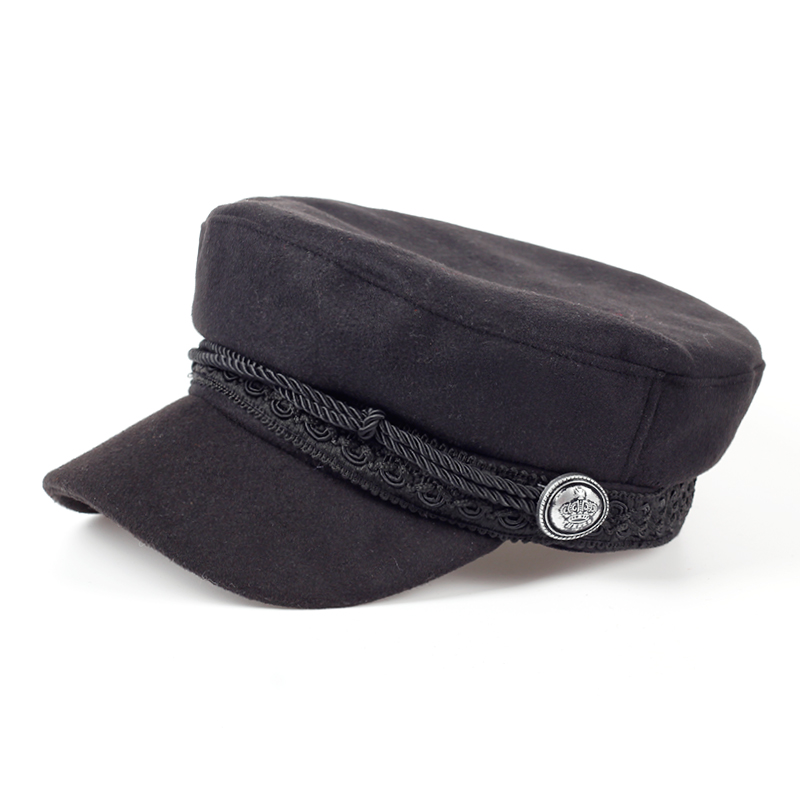 882e5c7041d51 Buy men black flat top hat and get free shipping on AliExpress.com