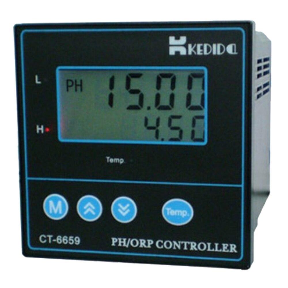 CT-6659 PH/ORP contrôleur CT-6659 + Ph électrode industrie Ph capteur CT-1001C 10 M ligne expédition rapide
