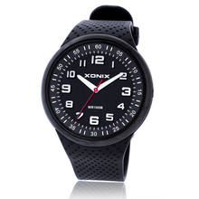 TOP Fashion Mens Watches Top Brand Luxury Sports Watches Waterproof 100M Quartz Watch Swimming Diving Hand Clock Montre Homme