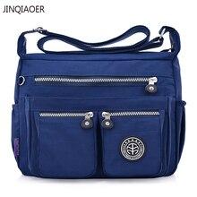 цены JINQIAOER Women Handbags Nylon Shoulder Bags Messenger Bags Brands Designer Female Crossbody Bags Bolsa