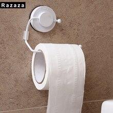 Фотография Vacuum suction cups Bathroom organizer Shelf For Kitchen Towel Storage Rack Roll Paper and Toilet Paper holder Roll Tissue box
