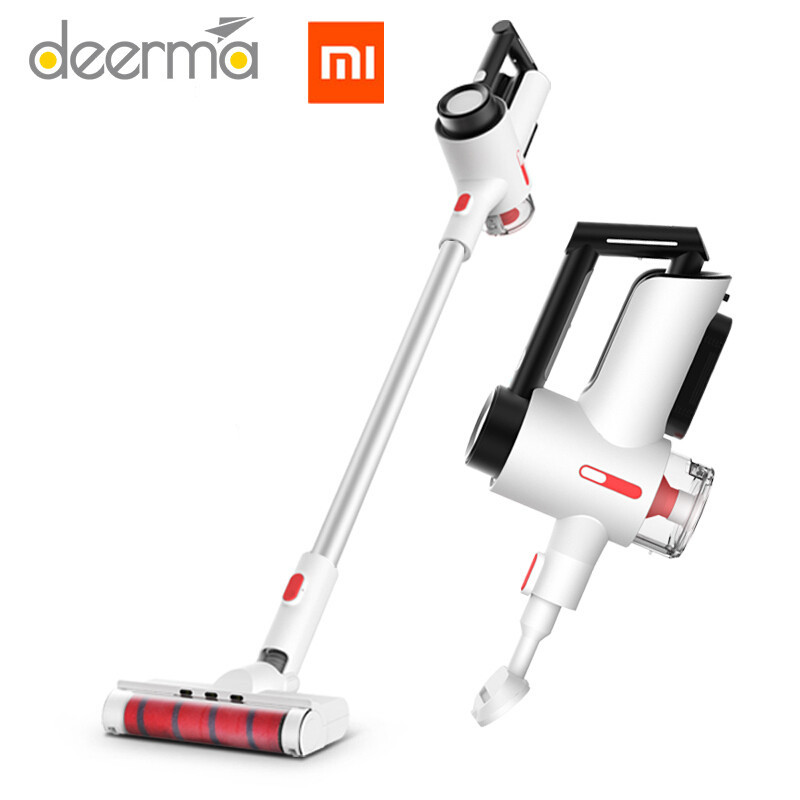 buy original xiaomi mijia deerma wireless vacuum cleaner handheld wireless. Black Bedroom Furniture Sets. Home Design Ideas