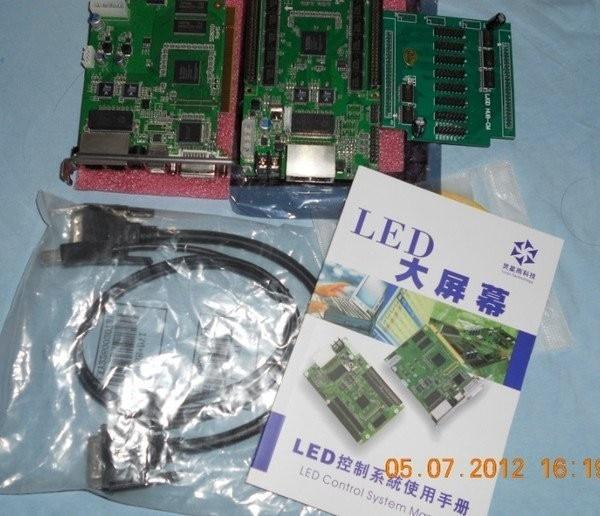 RV908 linsn recebe o cartão tela led