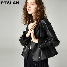 2017 genuine Leather Jacket Women Winter And Autumn New Fashion  Outerwear jacket New 2017 Coat HOT