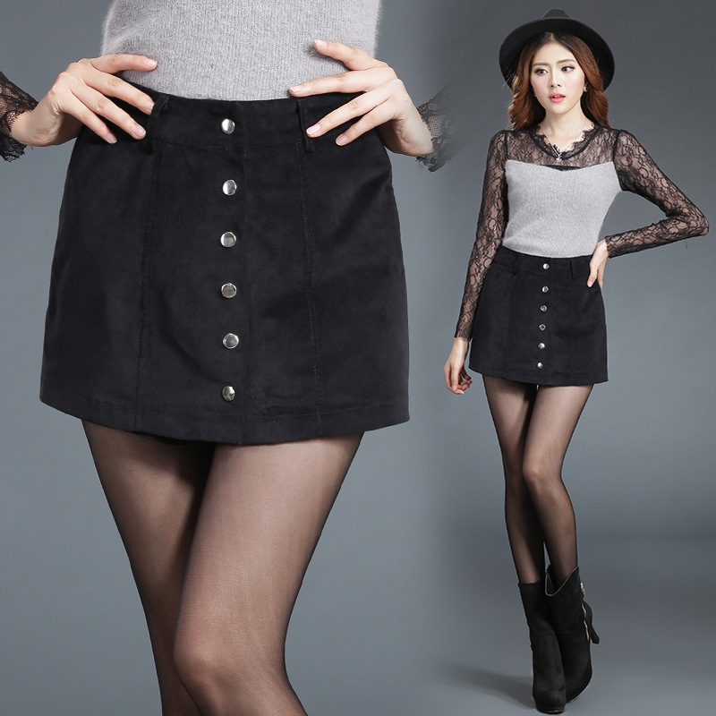 c54894446 US $23.6  2016 Summer Style New Fashion Short Skirt Women Faldas Midi  Velvet texture Skirts High Waist Sheds Tutu American Apparel slim-in Skirts  from ...