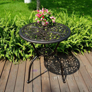 Image 3 - Outdoor uso Interno Patio in Fusione di Alluminio Bistro Set tavolo con 2 sedie in Rame Antico