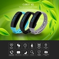 CUBOT V2 Smart Band Heart Rate Monitor Real-time GPS Sports Sleep MonitoringTrail Intelligent Reminder Wristband For IOS Android