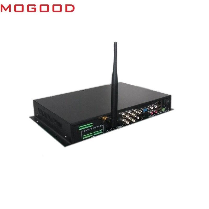 MoGood DVR MOBILE pour Bus de voiture 4CH BNC/720 P/HDCVI prend en charge le protocole multilingue WiFi FTP ONVIF