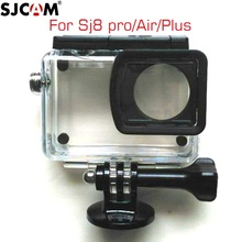 Original sjcam sj8 caso à prova dunderwater água subaquática 30m mergulho habitação caso para sjcam sj8 pro/ar/mais série câmera de ação acessórios
