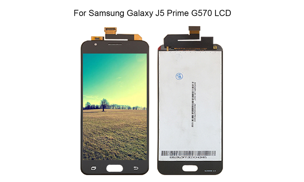 ᐂY-HOIVA 100% NEW For SAMSUNG GALAXY J5 Prime G570F G570 SM-G570F LCD  Display Digitizer Touch Screen Assembly - a815