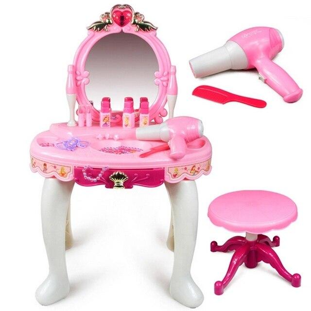 Gran sue o espejo m gico tocador princesa de la m sica del juguete ni as en muebles de juguete - Espejo magico juguete ...