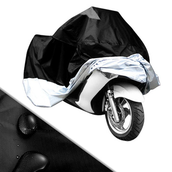 Motorcycle Cover Outdoor UV Waterproof For Dustproof Scooter Covers UV Snow Resistant PEVA Heavy Racing Bike Protective Scooter