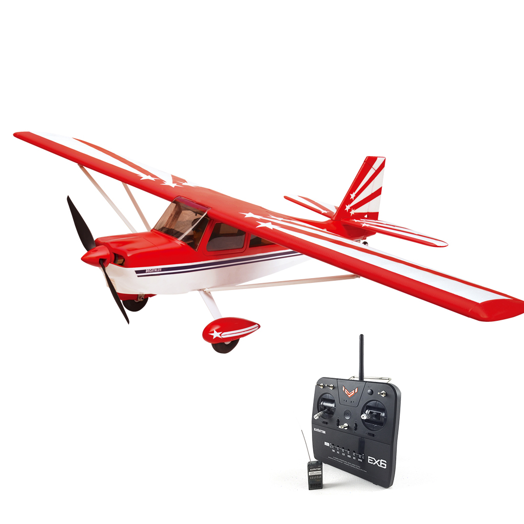 Volantex Super Decathlon RC RTF Plane Model W/ Brushless Motor Servo ESC Battery bulang mountain tea gel instant puer tea extracts raw 20g