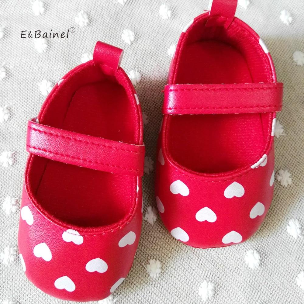 Baby Shoes Soft-Bottom Handmade Newborn PU Bainel 3-Colors Autumn-Spring Autumn-Spring