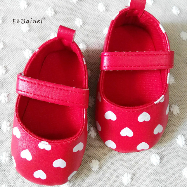 2994c2c3c E Bainel Soft Bottom Baby Shoes Newborn Baby Girl Shoes 3 Colors PU ...