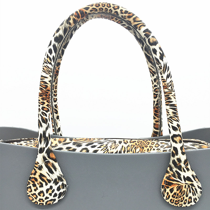 Aliexpress <font><b>china</b></font> 1 pair long short Soft PU Faux Leather Handles quality improved Handbag for O bag OCHIC Handles 2017
