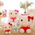 Фаршированные Высокого Качества 60 См Hello Kitty Плюшевые Игрушки Hello Kitty кукла Горошек Ребенок Подарочные Куклы и Мягкие Игрушки Бесплатная Доставка
