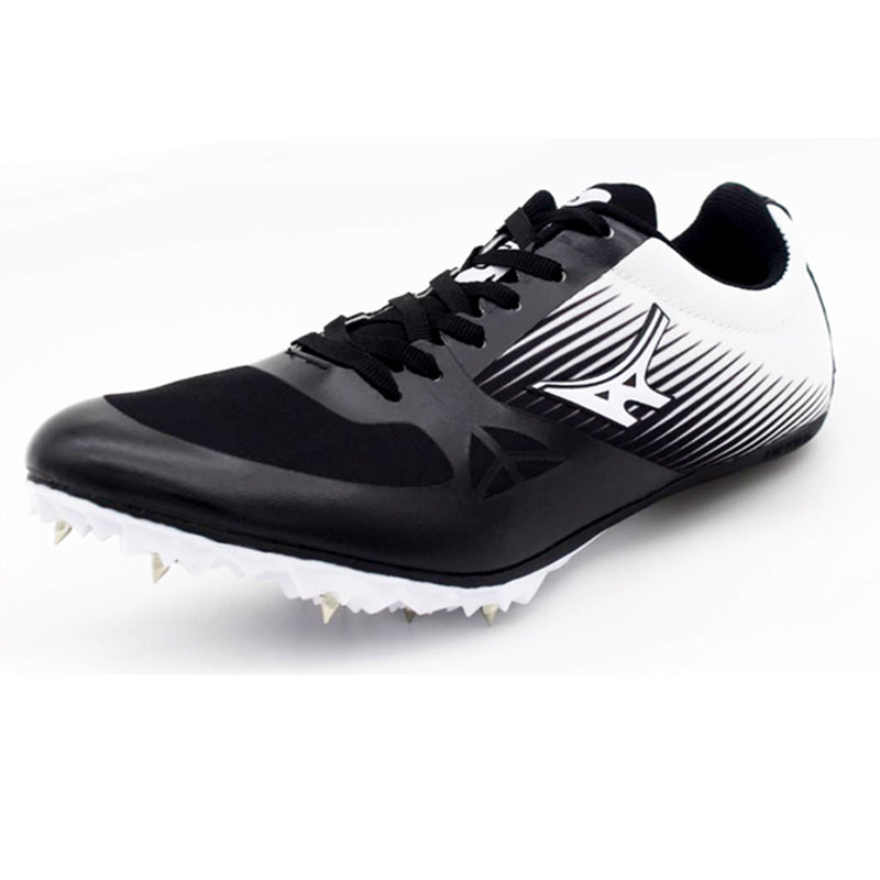 Men Women Spikes Running Shoes Dash Sprint Outdoor Sports Shoes Ultralight Track Field Trainer Sneakers Athletic Shoes Zapatilla gogoruns men sprint spikes running shoes boy students examination track and field nail shoes sneakers men