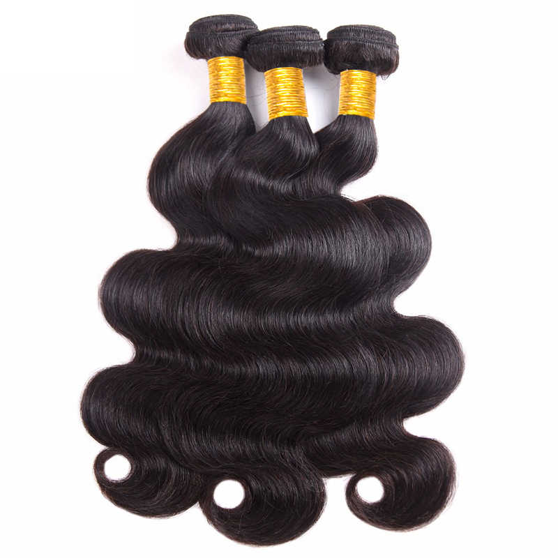Перуанские волосы пучки Волнистых Волос Натуральный Цвет Yavida человеческих необработанные плетенные пряди волос 8-30 дюймов не Волосы remy 1/3/4 шт.