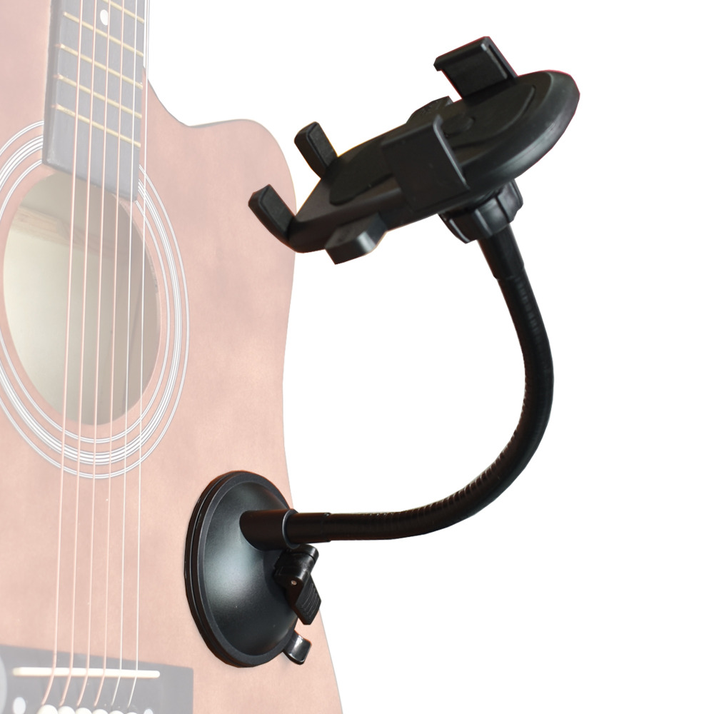 Smartphone Holder Smartphone Stand Support Mount For Guitar Sidekick -No Guitar,No Smartphone Included