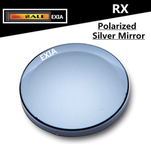 Silver Mirror CR-39 1.499 Index UV400 Anti-Glare Optical Lenses 1 Pair EXIA OPTICAL KD-29 Series