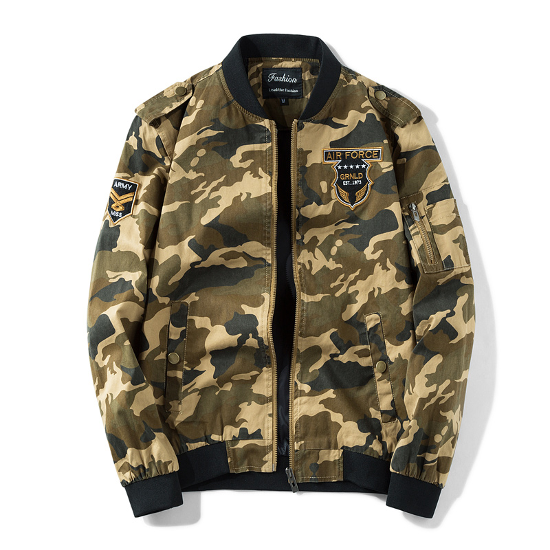 Winter Men Jacket 2017 Brand Casual Warmth army Military Camouflage Mens Jackets And Coa ...