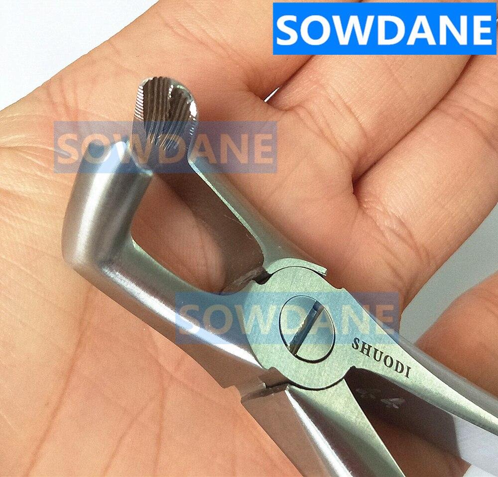 Dentale Inferiore Mandibolare Molari Saggezza Denti Estrazione Forcep Seghe Dente Per Minimamente Invasiva Toothdental Strumento Curvo.