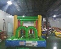 Наружное Надувное препятствие курс детская площадка Надувное оборудование для развлечений