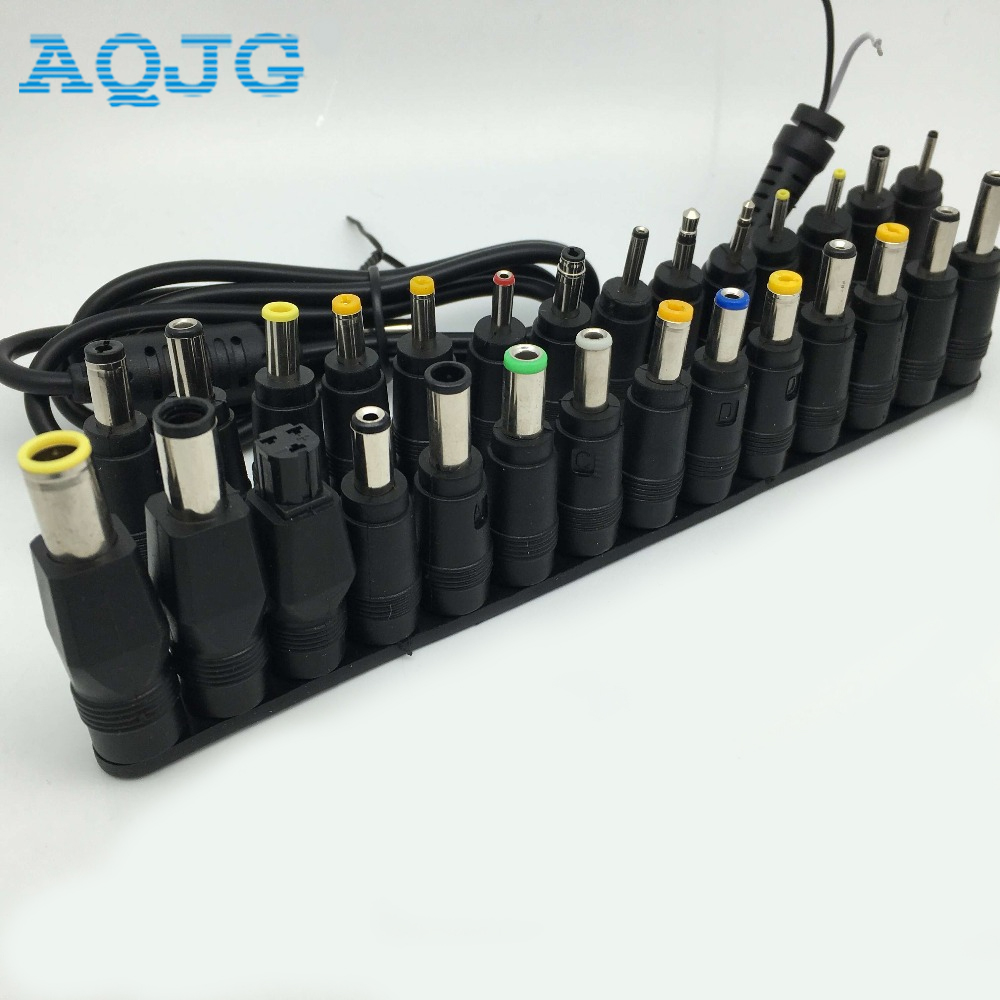 все цены на New 28 in 1 Set New Universal AC DC Jack, Charger, Connector, Plug for Laptop /Notebook AC DC Power Adapter with Cable AQJG онлайн