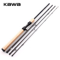 RUKE new 2018 Lure fishing Rod Four Sections Protable Spinning Casting Rod M Fast Action FUJI K Guider and Fuji Wheel Seat