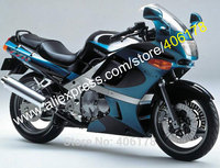 Hot Sales,For Kawasaki ZZR400 1993 2003 ZZR 400 93 03 ZZR 400 Multi color ABS body kit Motorcycle fairings (Injection molding)